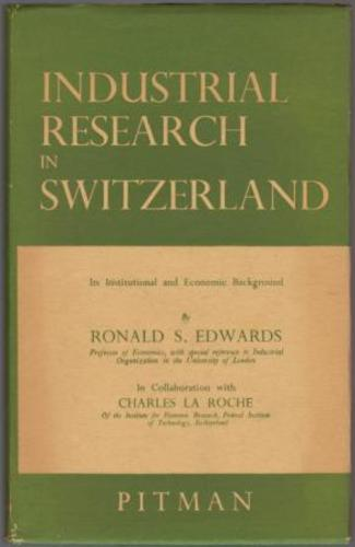 EDWARDS, Ronald S.  and in collaboration with  La ROCHE, Charles.
